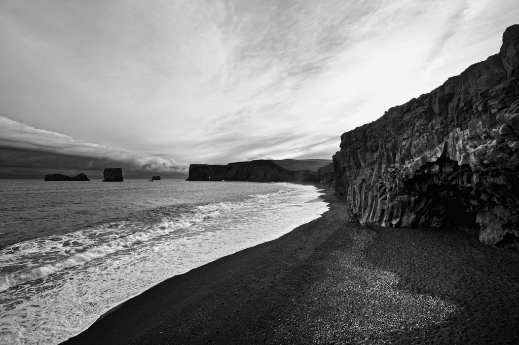 iceland beach Dyrhólaey