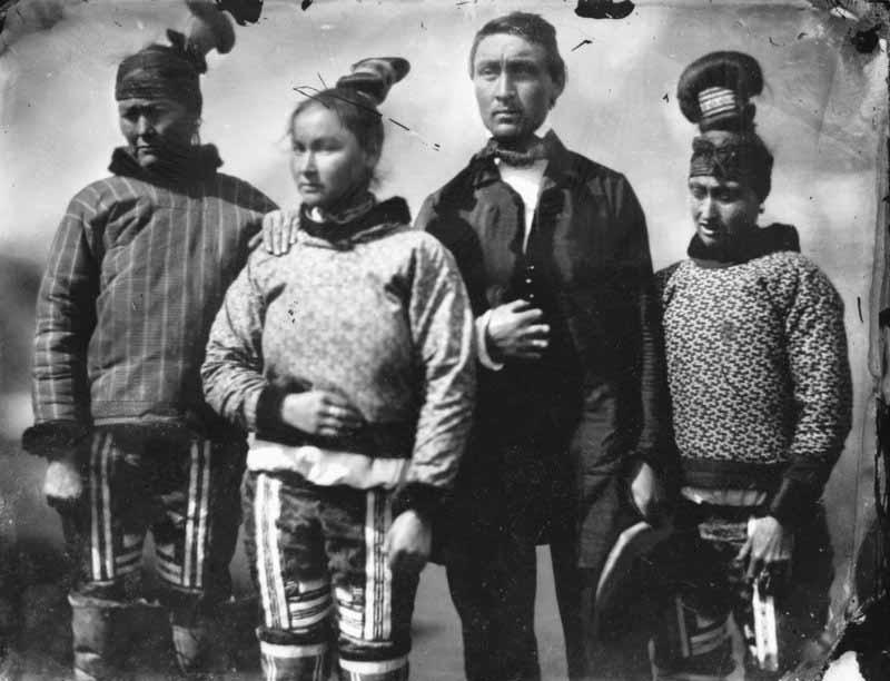 Inuit group Inglefield 1854