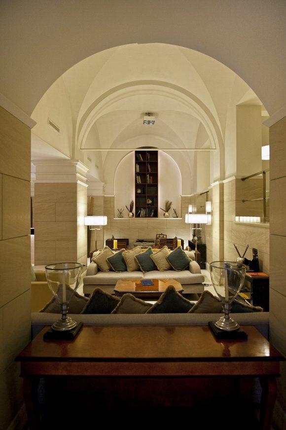 Hotel Rose Garden Palace a Roma - Area comune