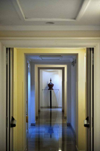 Hotel Rose Garden Palace a Roma - Corridoio