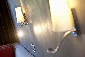 Hotel Parco San Marco - Dettaglio lampade su letto