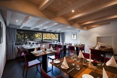 Hotel Parco San Marco - Ristorante atmosfera con finestra sul lago