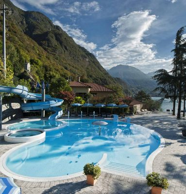 Hotel Parco San Marco - Piscina con scivoli