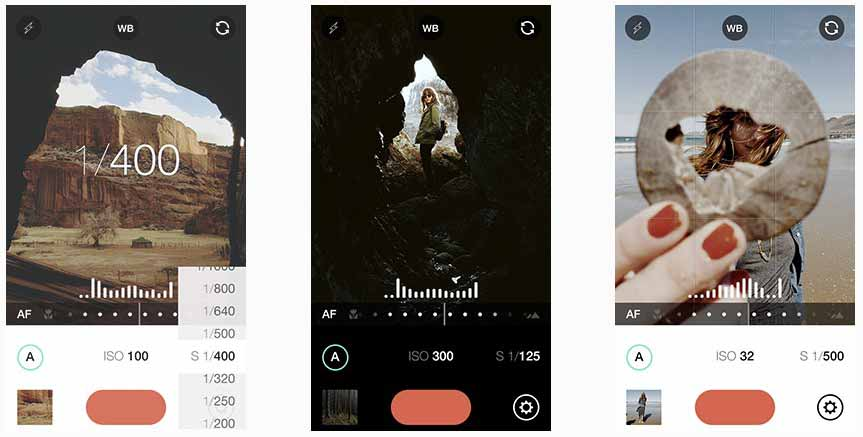 Fotografare con l'iPhone: Manual app per iPhone