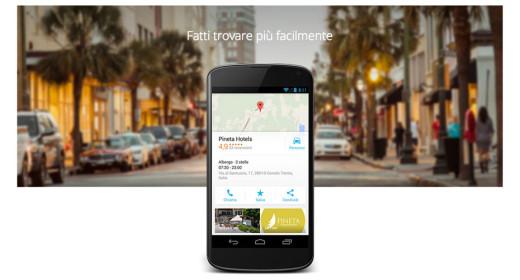 Fatti trovare su Google Maps