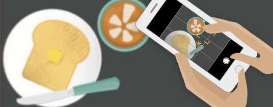 Fotografare-il-cibo-con-smartphone