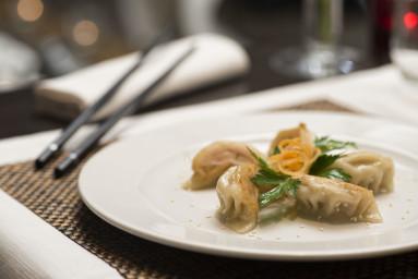 Ravioli al vapore con verdure