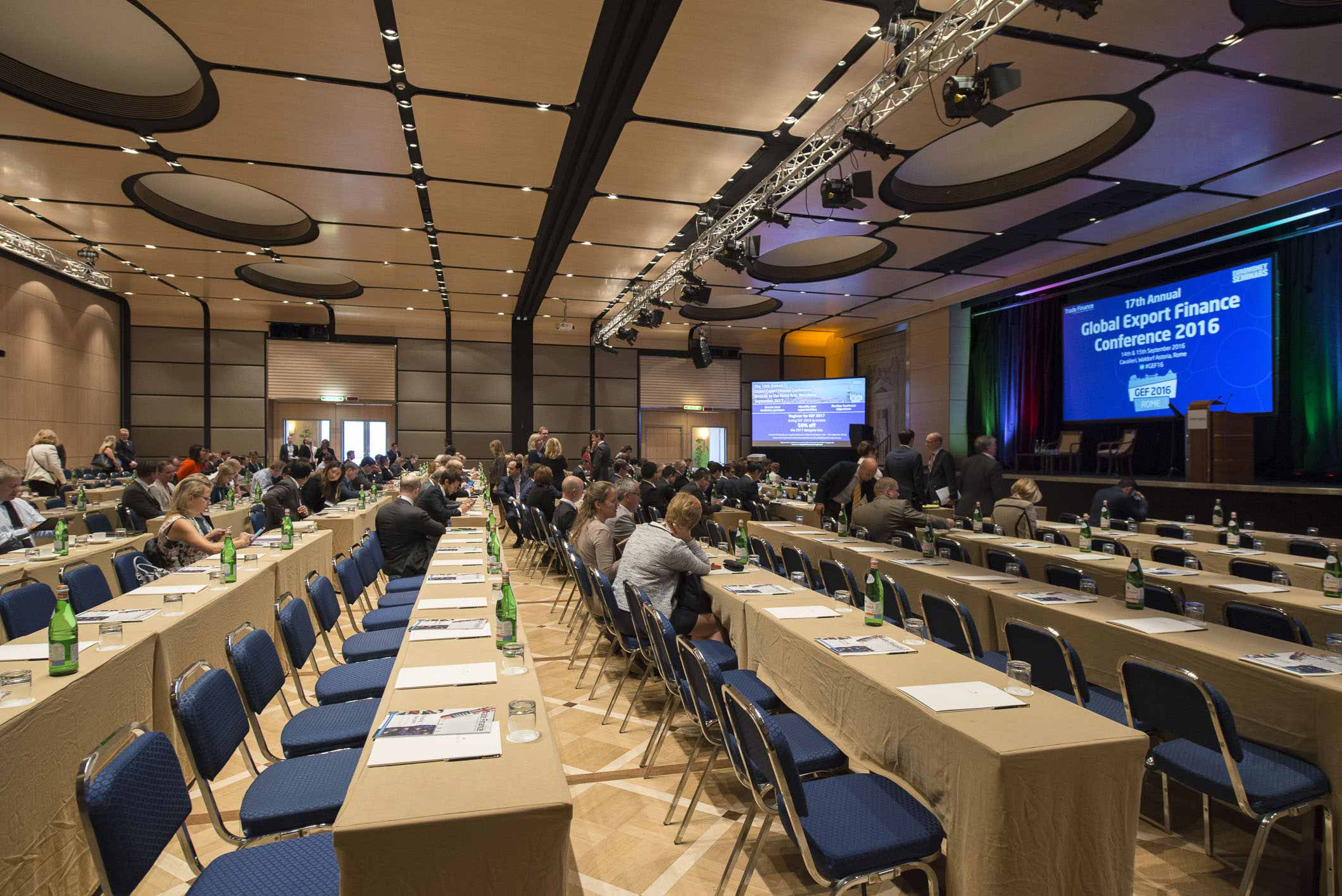 Conference Photographer in Rome – 17th Global Export Finance Conference #02