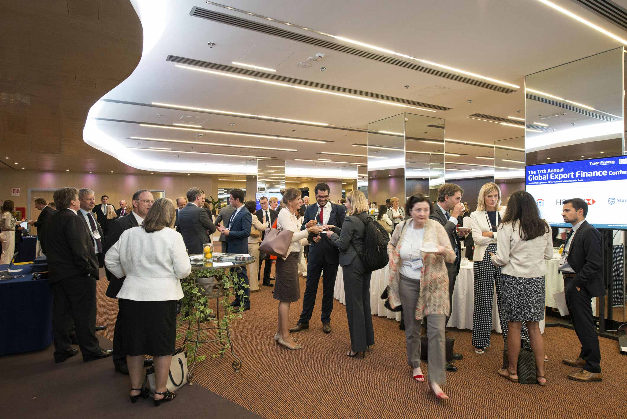 Conference Photographer in Rome – 17th Global Export Finance Conference #16