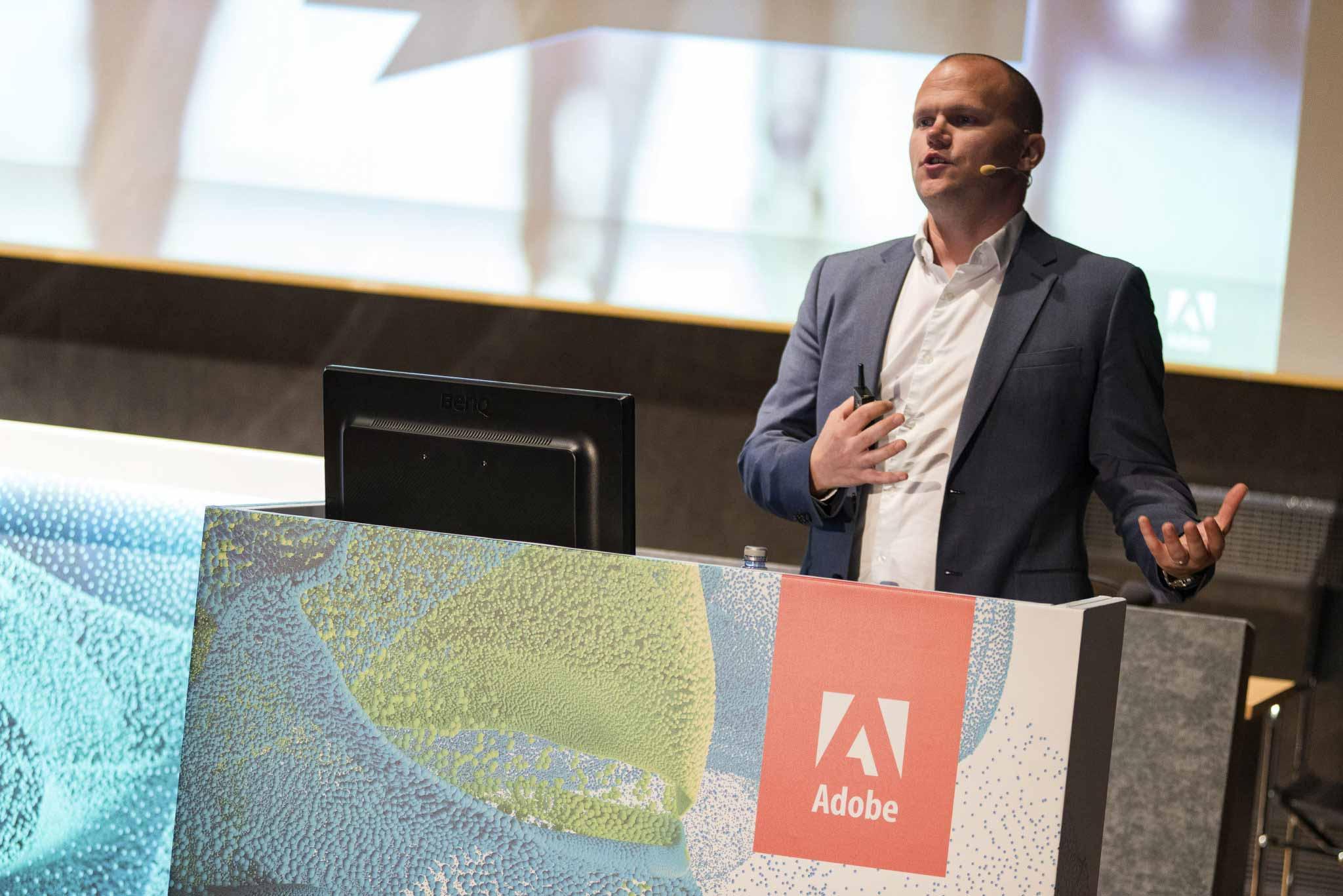Fotografo per Conferenze a Roma – Adobe Customer Experience Forum #8