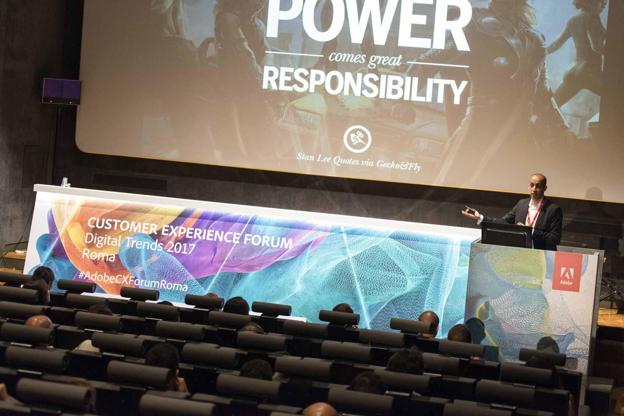 Fotografo per Conferenze a Roma – Adobe Customer Experience Forum #10