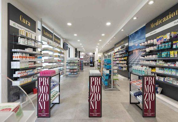 Farmacia Comunale di Livorno su progetto Zanchettin #6