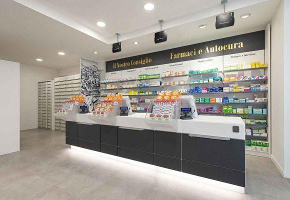 Farmacia Comunale di Livorno su progetto Zanchettin #7
