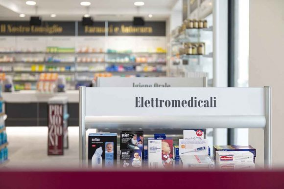 Farmacia Comunale di Livorno su progetto Zanchettin #10