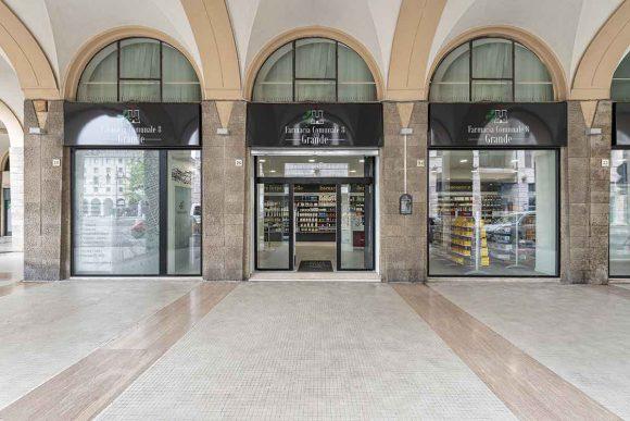 Farmacia Comunale di Livorno su progetto Zanchettin #12